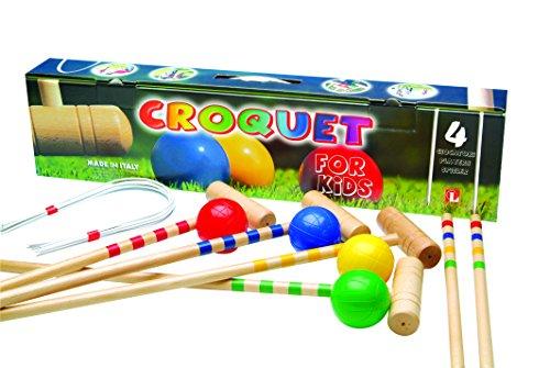 TMI 10-06204 Childrens Croquet Set