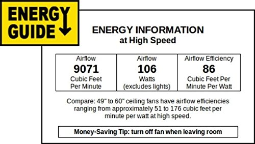Minka-Aire F539-ORB, Great Room Oil-Rubbed Bronze 72 inch Ceiling Fan with Wall Control