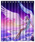 Outlet-Seller Custom Flying Angel Shower Curtain 60