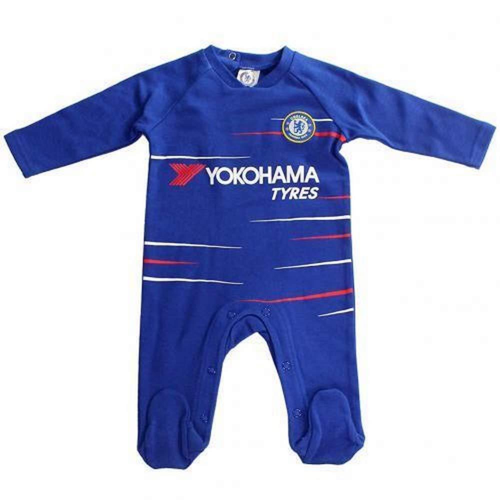 Chelsea Unisex Baby Sleepsuit 2018/19 Season Chelsea FC