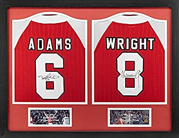 sports shoes bce85 5ddfa Allstarsignings Tony Adams and Ian Wright signed and Framed ...