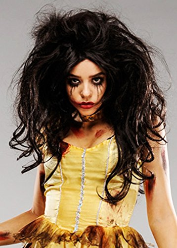 Amazon.com: Deluxe Womens Zombie Princess Belle Wig: Beauty