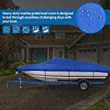 iCOVER Trailerable Boat Cover Heavy Duty Waterproof