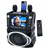 "Karaoke USA GF830 Karaoke System with 7"" TFT Color Screen, Record Function & Bluetooth(r)"