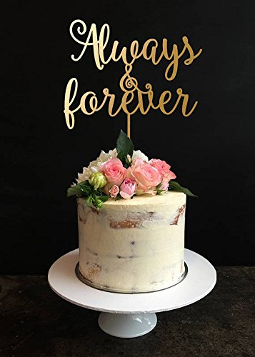 Anniversary Cake Toppers