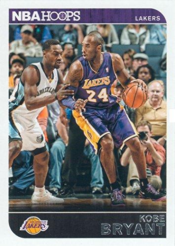 Kobe Bryant 2014 2015 Hoops NBA Basketball Series Mint Card 59 Kobe Bryant M (Mint)