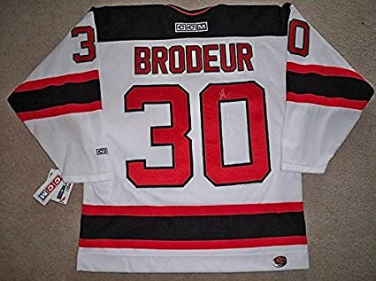 Signed Martin Brodeur Jersey W Coa Autographed Nhl Jerseys At