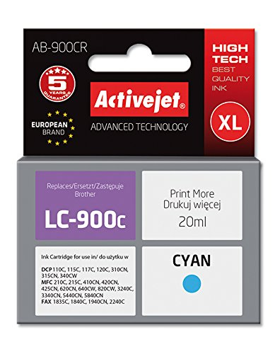 ActiveJet AB-900CR cartucho de tinta Cian 1 pieza(s ...