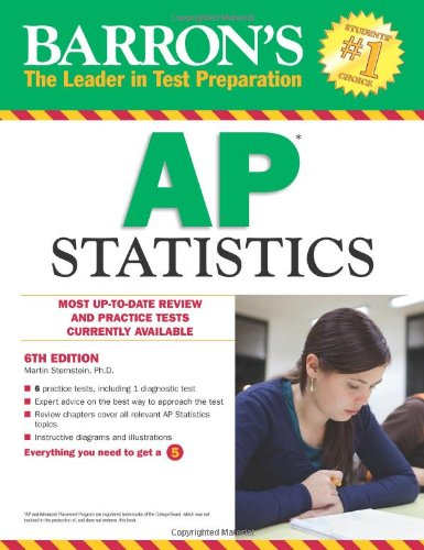 Barron's AP Statistics, 6th Edition