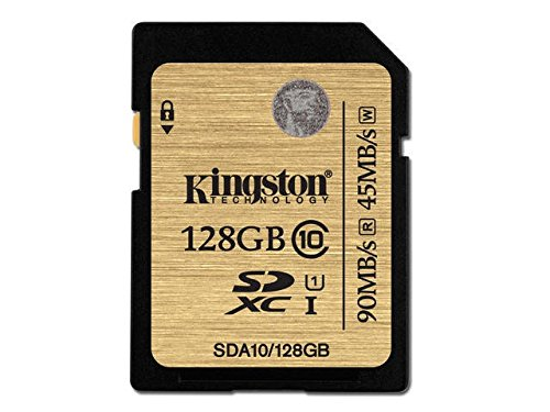 Kyocera Computer Ram - 128GB SDXC CLASS 10 UHS-I ULTIMATE FLASH