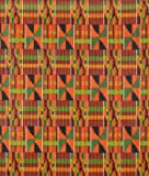 (US) African Kente Print - Serengeti Fabric - by the Yard