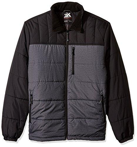 [해외]제 옥 포 수 르 남자의 키가 큰, 크 플렉스 퀼 팅 패딩 재킷 / ZeroXposur Men`s Tall Big & Tall Flex Quilted Puffer Jacket