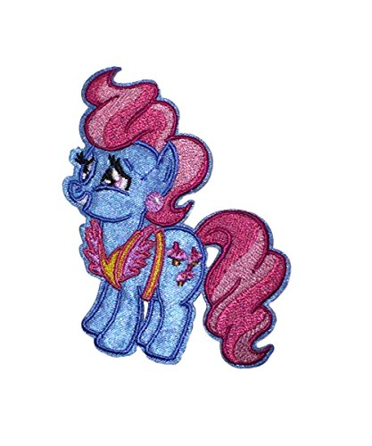 Application Cartoon Classic My Little Pony Mrs. Cup Cake Cosplay Badge Embroidered Iron or Sewn-On Applique (Mrs Jason Halloween Costume)
