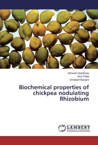 Biochemical properties of chickpea nodulating Rhizobium