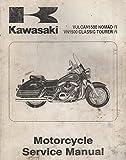 2000 KAWASAKI MOTORCYCLE VULCAN 1500 NOMAD Fi SERVICE MANUAL 99924-1259-01 (751)