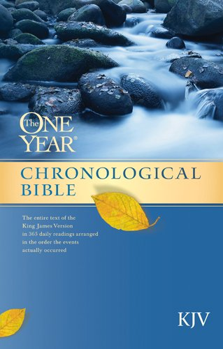 The One Year Chronological Bible KJV (OYCB