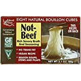 Edward & Sons Not Beef Bouillon Cubes, 3.1 oz