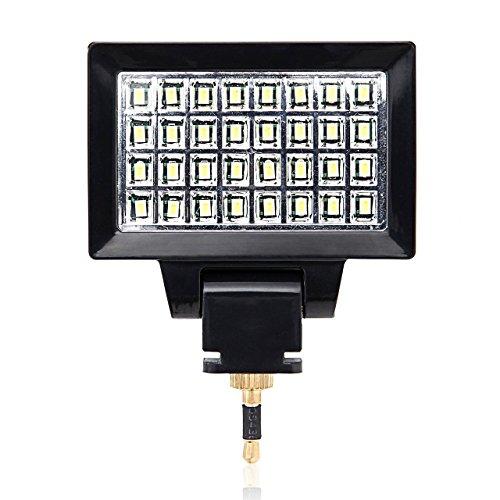 サンワダイレクト LEDライト スマートフォン カメラ用 32灯 充電式 200-DG006の商品画像