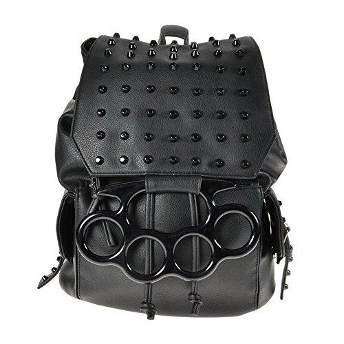 Vixxsin - Bolso mochila  para mujer negro negro