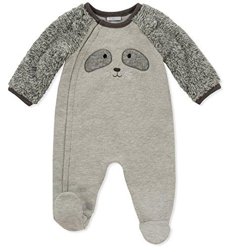 absorba Baby Boys Footie-Animal Face