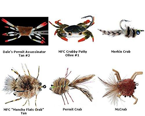 Crab - Permit Flies Assortment