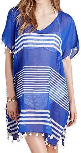 Sunm boutique Womens Stripe Swimsuit product image