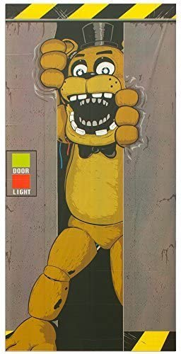 2 Pack Forum Novelties Five Nights at Freddys Window Covers