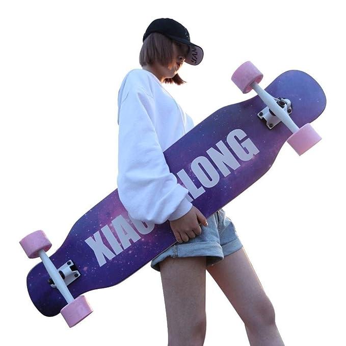 Patinetes Skateboard Chica De Cuatro Ruedas Scooter ...