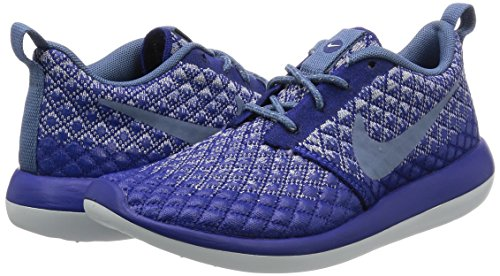 Nike Womens Roshe Två Flyknit Djupt Kungsblå / Ocean Dimma