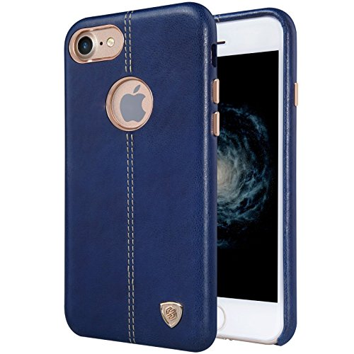 Nillkin ip7-englon Englon Étui en cuir pour iPhone 7, bleu