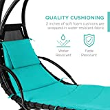 Best Choice Products Hanging Curved Chaise Lounge