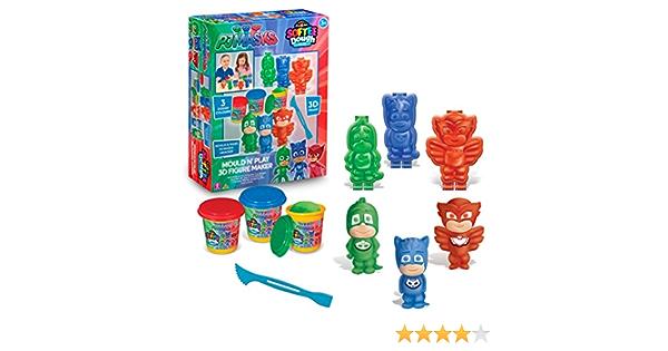 PJ máscaras 21314 Molde N Play 3D Figura eléctrica