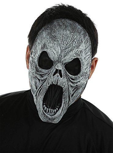 UHC Wailing Spirit Devil Of Death Mask Horror Sacry Theme Party Halloween ()