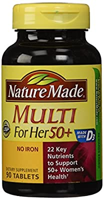 Nature Made Multi For Her 50+ 90ct