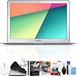 """Apple 13.3"""" MacBook Air (Mid 2017, Silver) 256GB Hard Drive SSD Deluxe Package"""