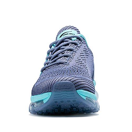 Unisex Moon Mojadura Correr Gimnasio Atlético Air Zapatos Gray Mujer Respirable Para Hombre Adulto Onemix WqxZXHn6wO