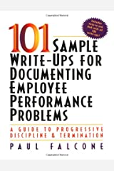 101 Sample Write-Ups for Documenting Employee Performance Problems Paperback