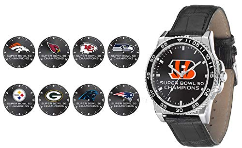 Rico Industries NFL Denver Broncos WatchWatch Super Bowl 50 Champion Men