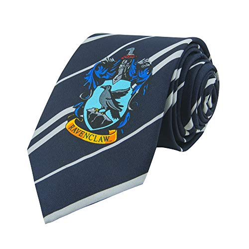 Harry Potter Tie ● Necktie ● By Cinereplicas ● With Zip Bag ● Micro Fibra (Ravenclaw)]()
