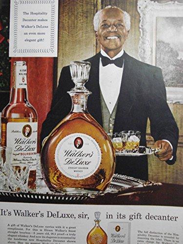 (Ad for Walker's Deluxe Straight Bourbon Whiskey