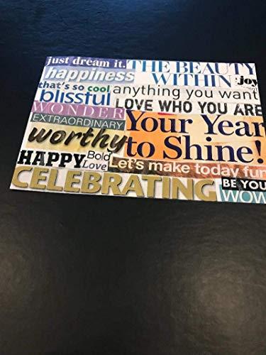 Power word Postcards Birthday Blessings ()
