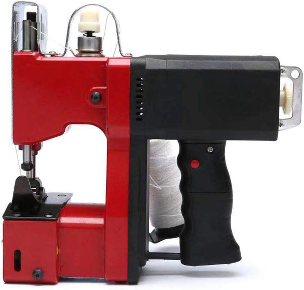 Máquina de coser eléctrica portátil Máquina de sellado portátil de alta velocidad Máquina de embalaje industrial Empacadora para bolsa tejida Bolsa de arroz Bolsa de plástico Bolsa de papel: Amazon.es: Bricolaje y