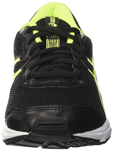 Asics Gel-Zaraca 5 Gs, Zapatillas de Entrenamiento Unisex Bebé Negro (Black / Safety Yellow / White)