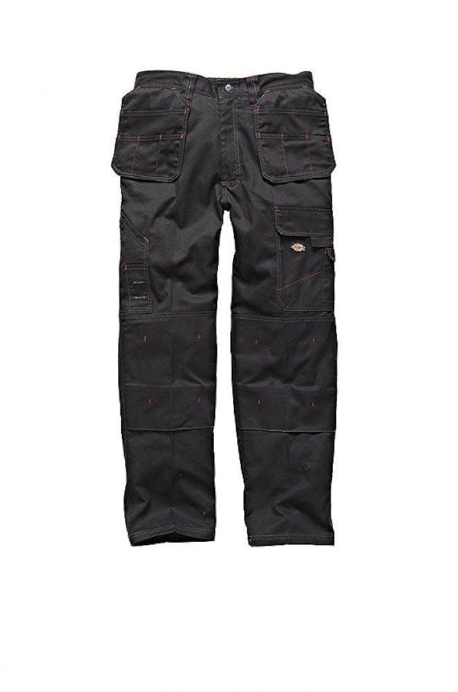 Negro Dickies Redhawk Pro WD801/Holster Bolsillo de Trabajo Pantalones de Trabajo