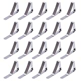 Outus Tablecloth Clips Table Cover Clamps, Stainless Steel, 20 Pack