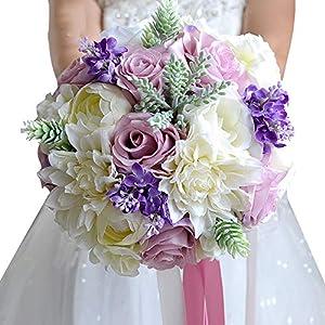 Wedding Flowers Bridal Bouquet Bridal Bridesmaid Bouquet Bride Bouquet Wedding Bouquet Bride Holding Flowers FE19 38