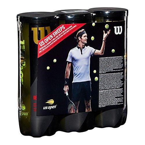 Ball Tennis Prince (Wilson Sporting Goods US Open Promo Regular Duty Tennis 3 Ball Can (3 Pack))