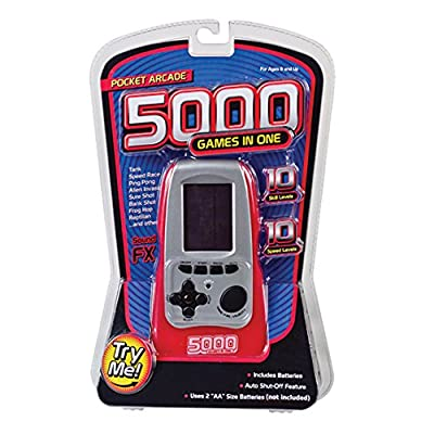 Westminster Pocket Arcade 5000 Games in One, Red: Toys & Games