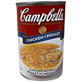 Campbell's Chicken Noodle Soup, 284ml (Pack of 12)