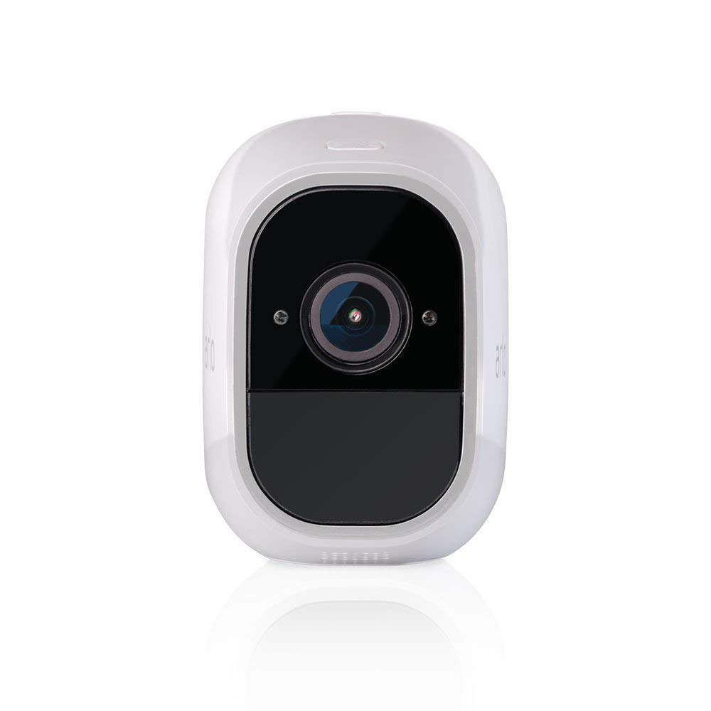 Arlo Pro 2 - (1) Add-on Camera | Rechargeable, Night vision, Indoor/Outdoor, HD Video 1080p, Two-Way Talk, Wall Mount | Cloud Storage Included | Works with Arlo Pro Base Station (VMC4030P) (Renewed) by Arlo Technologies, Inc